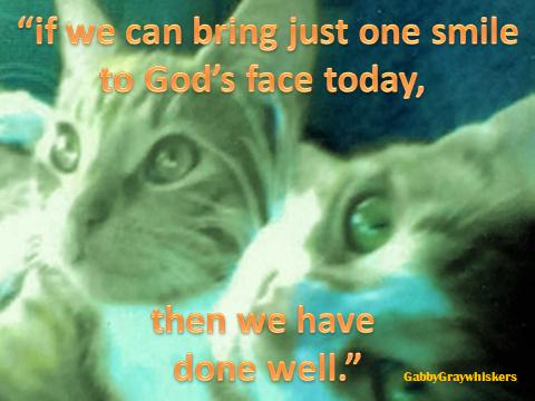 smiling God