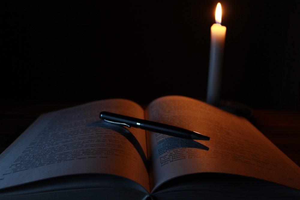 blur-book-candle-207700