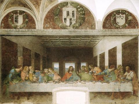 the last supper da Vinci
