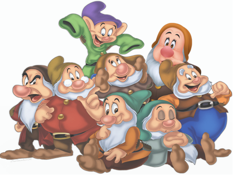 the 8 dwarfs