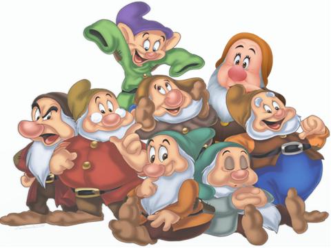 the 8 dwarfs